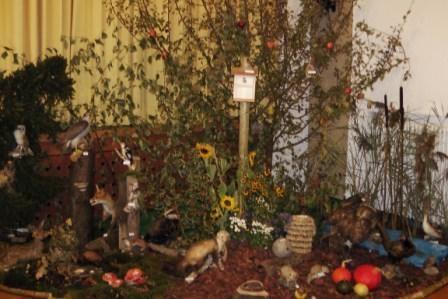 Unser Waldbiotop in der Frizhalle (02. + 03.10.2010)