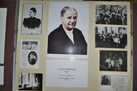Lina Hähnle, Gründerin unseres Hauptvereins vor 111 Jahren