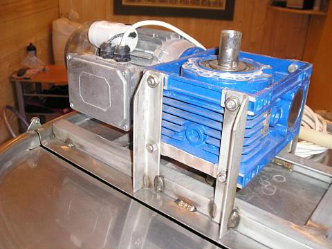 Rührwerksmotor vom Sudhaus