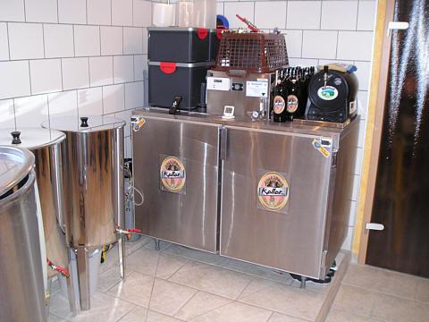 Kühlzelle zur Gärung und Lagerung