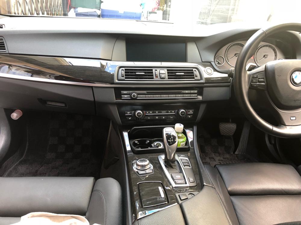 BMW530d インパネ