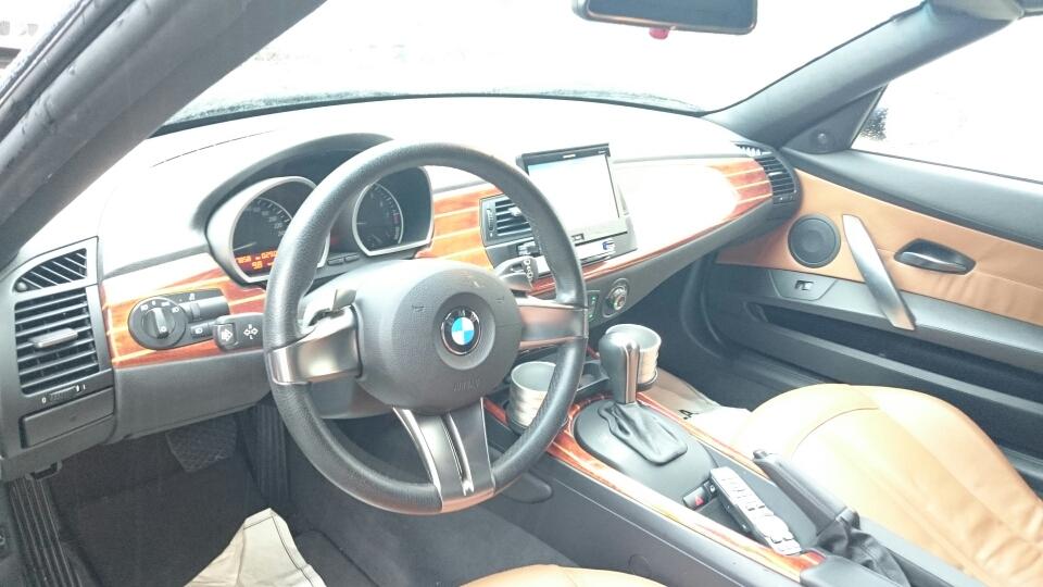 BMW Z4 インテリア