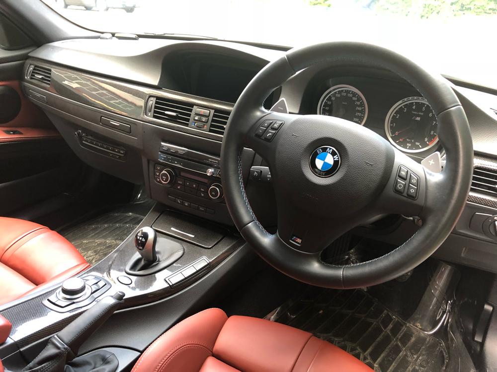 BMW M3 インテリア