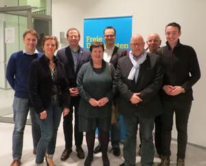 Die Bochumer Delegierten auf dem FDP-Bezirksparteitag