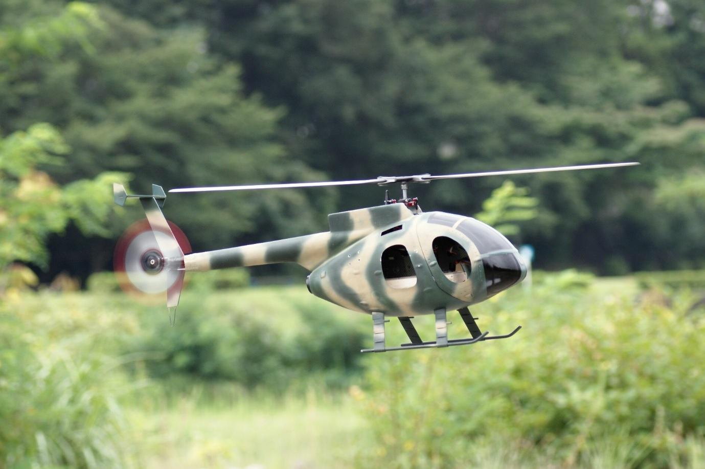 Hughes500   military