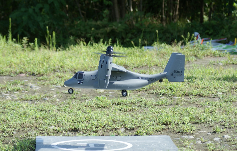 V22-オスプレイ  ( ヘリモード )