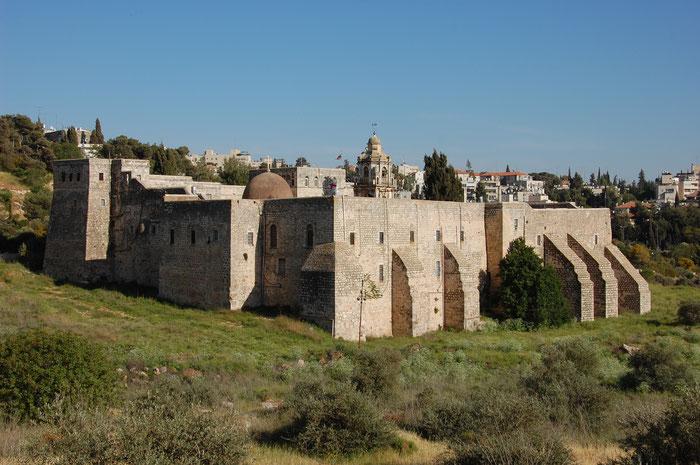 Das Heilig-Kreuz-Kloster in Jerusalem.