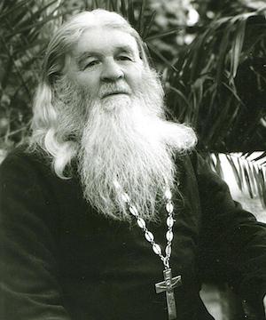 Der Heilige Starez Amfilochij von Počajew.