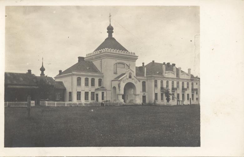 Die Klostergebäude in Turkowice- Zustand vor dem Ersten Weltkrieg.
