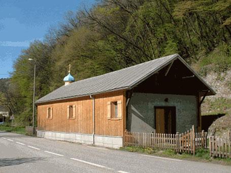 Kirche zu Ehren des heiligen Wundertäters Nikolaus von Myra in Ugine.