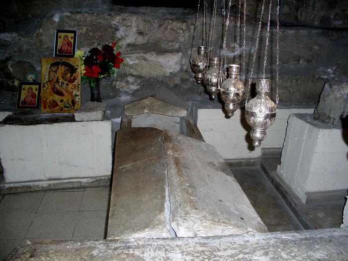 Grab des Heiligen Lazarus in der Kirche Agios Lazaros in Larnaca auf Zypern