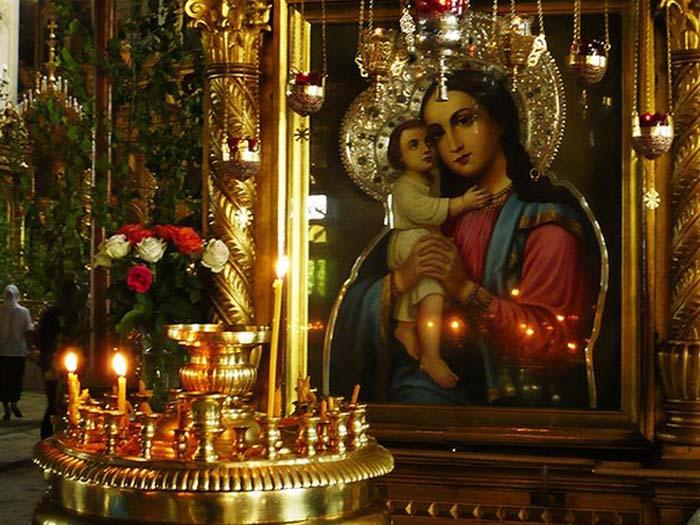 """Ikone der Gottesmutter """"Aufsuche der Verlorenen"""" - Икона Богородицы «Взыскание погибших»"""