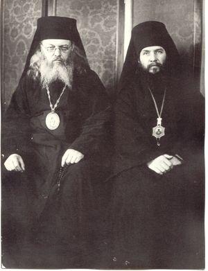 Vladika Luka als neugeweihter Bischof.