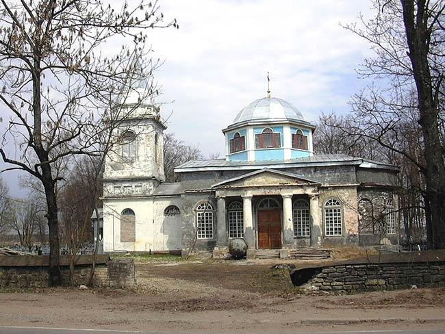 Mariae- Entschlafens- Kirche in Vruda.