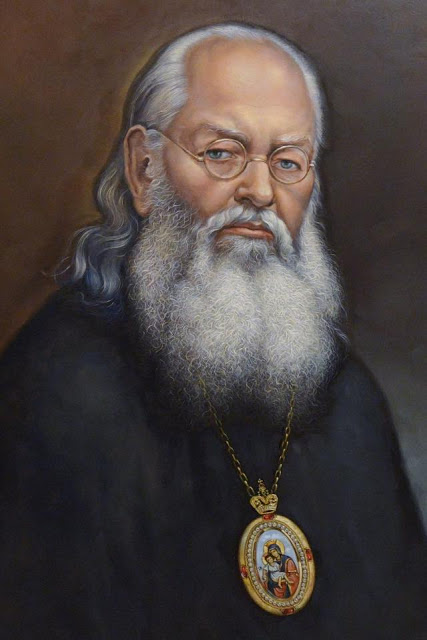 Ölbild der heiligen Luka.