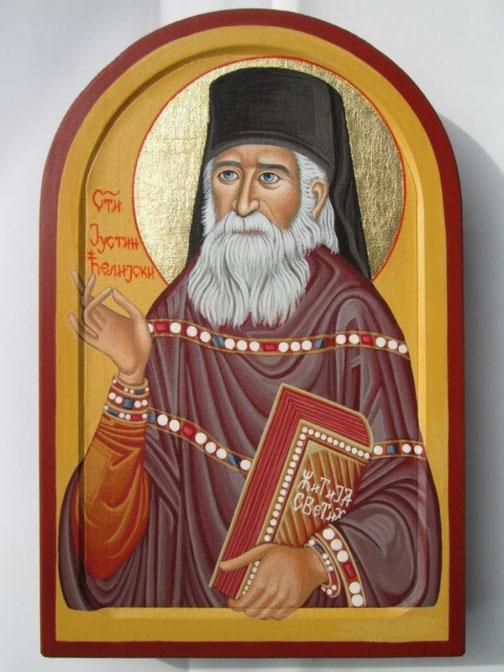 Heiliger Justin von Čelije.