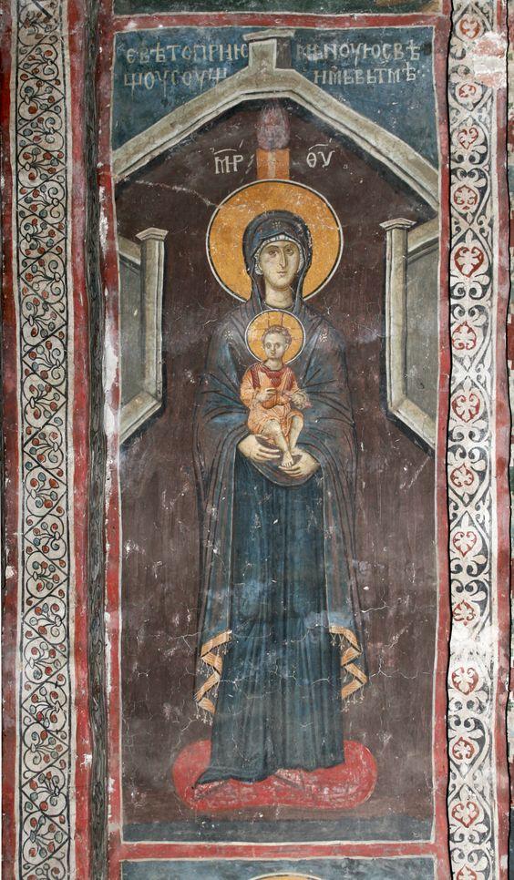 """Maria ist der """"beseelte Tempel"""", das Allerheiligste, in welcher """"Gott Selbst Wohnung nahm und ein Kindlein ward""""."""