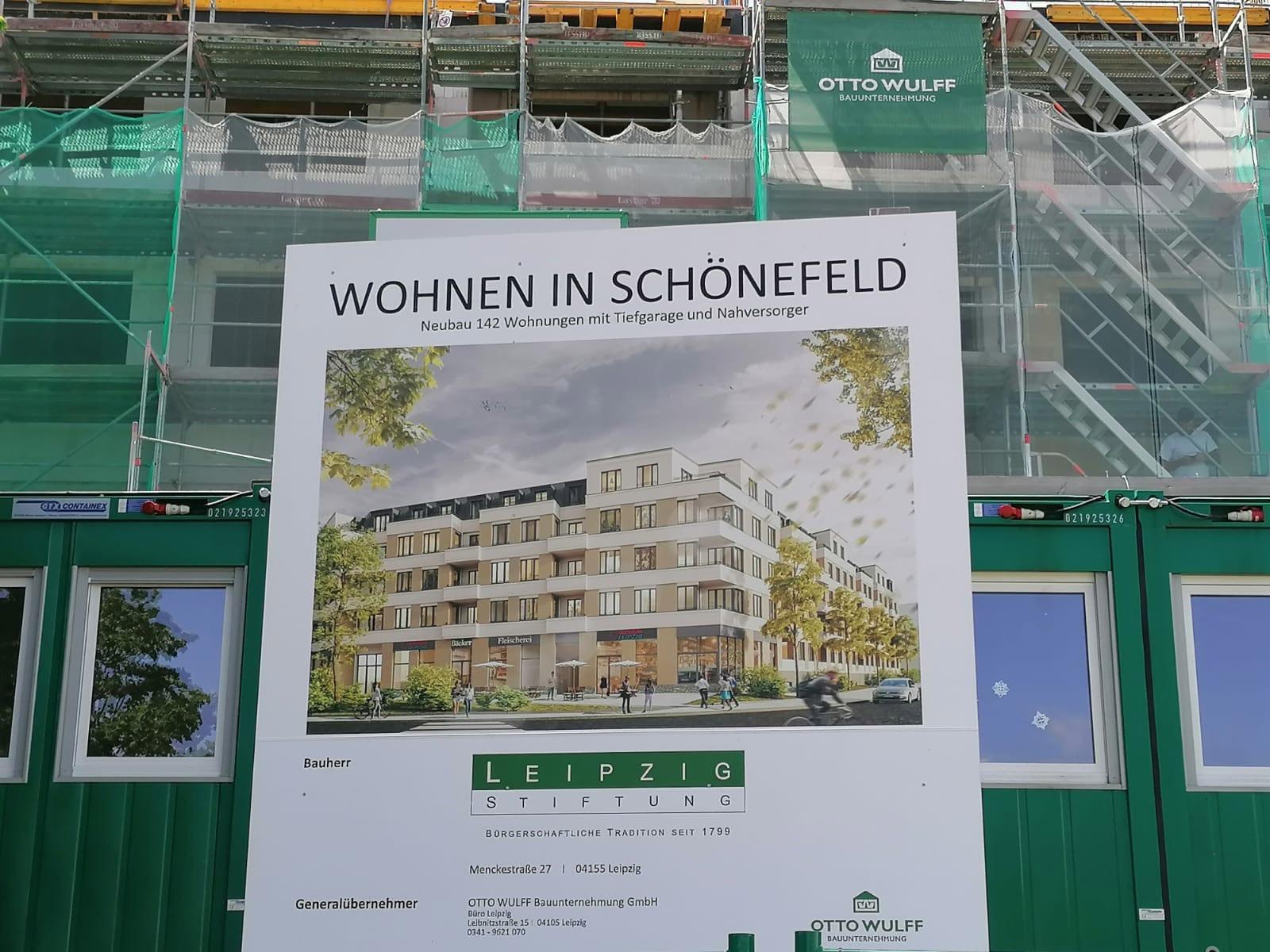 Robert-Blum-Str. 19 in Leipzig - Bauvorhaben: Wohnen in Schönefeld