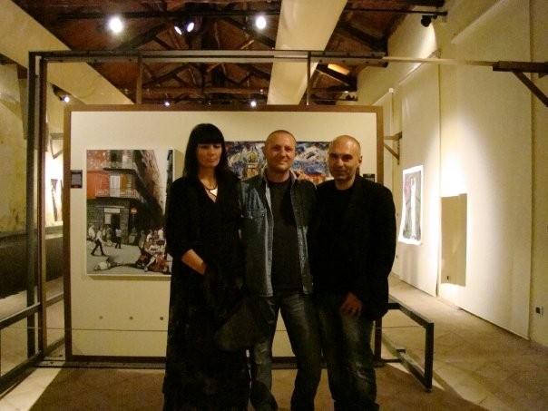 con Leopoldo Pezzella e Roberto Ronca