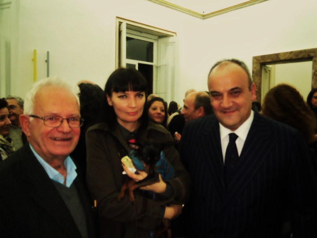 con Riccardo Dalisi e Alfonso Artiaco