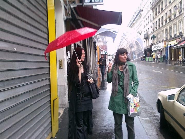 con Balladyna de Tempete a Parigi