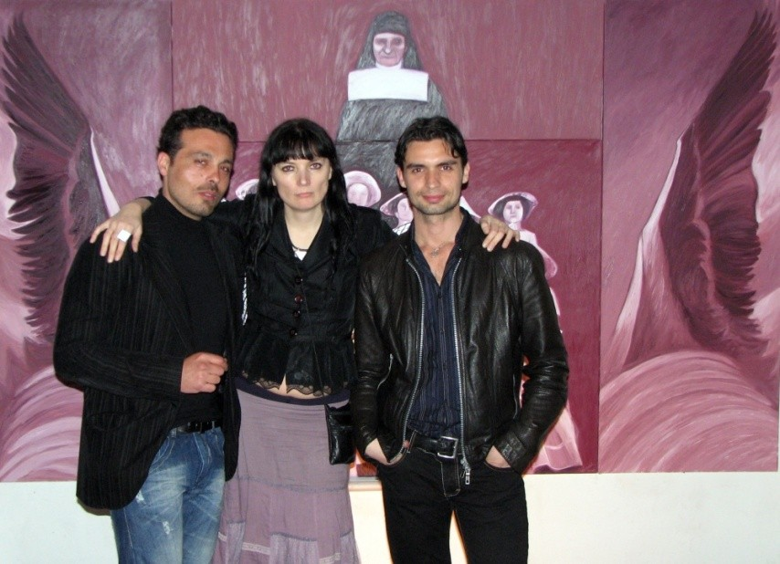 con Lucio DDT ART e Davide Stasino