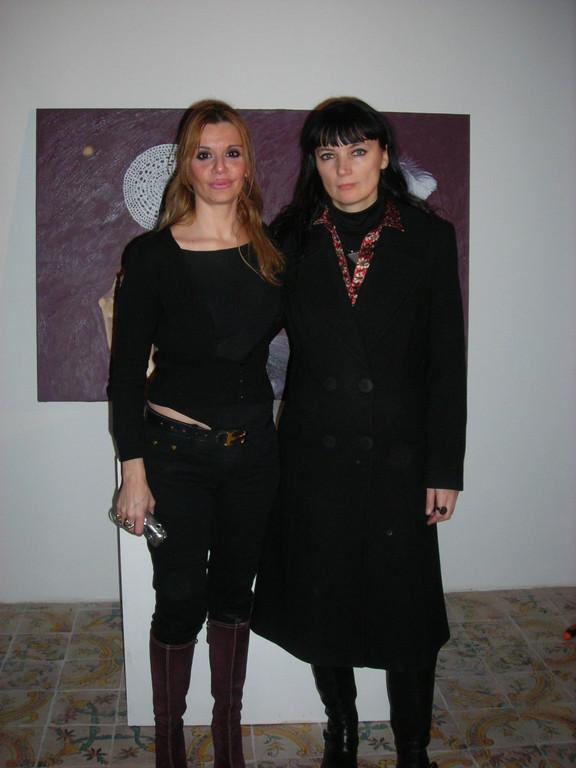 con Beatrice Feo Filangeri
