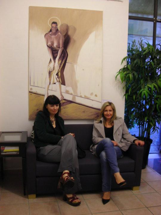 con Paola Bertolazzi