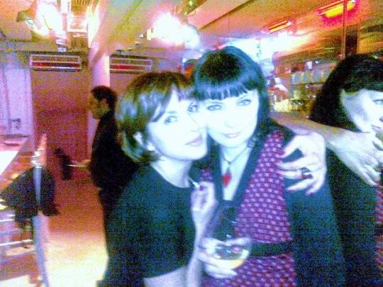 con Marina Romano