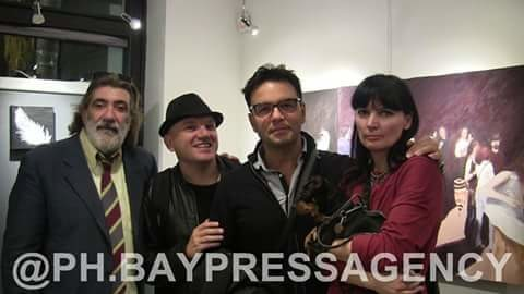 con Alessandro Papari,Scarlet Lovejoy e Bruno Aymone