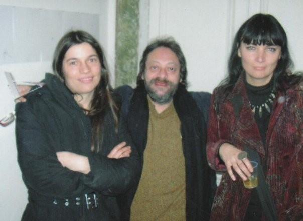 con Enzo Bergamene e Chiara Camoni