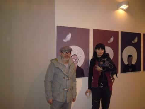 con Dino Morra