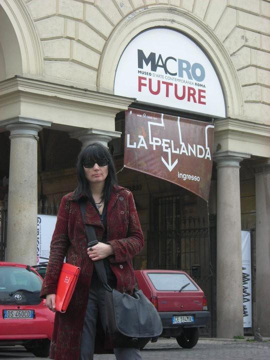 al MACRO FUTURE-museo d'arte contemporanea a Roma
