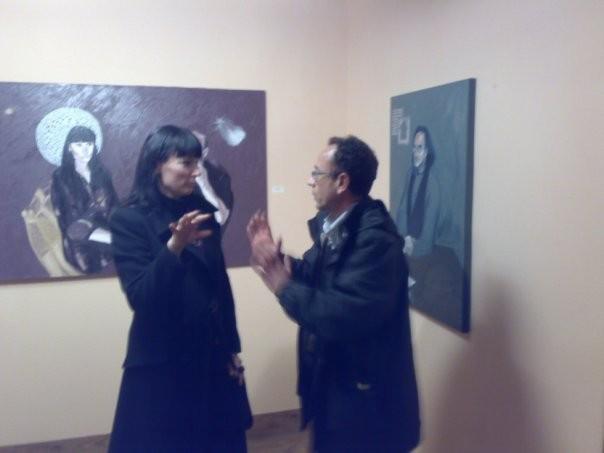con Massimo Sgroi