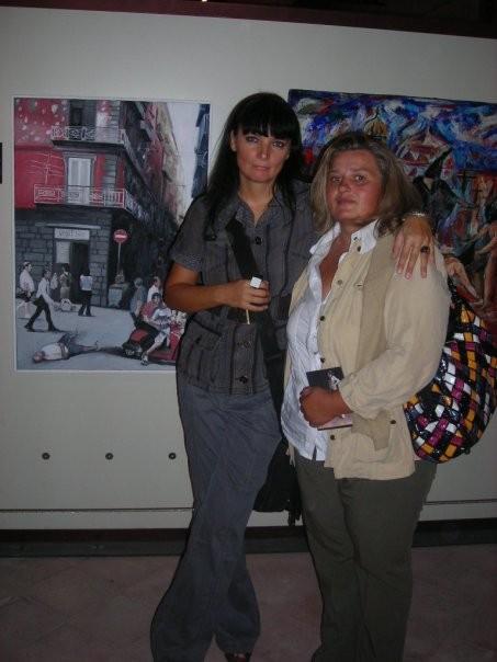 con Anna Smolinska