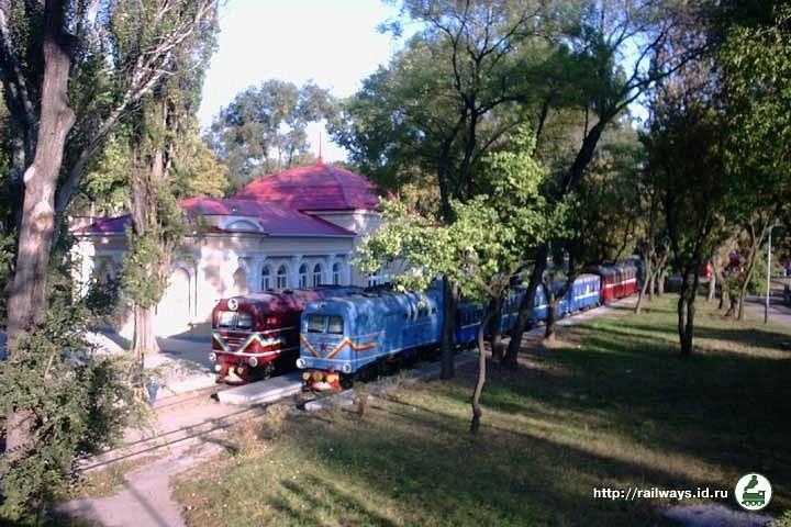 Рухомий склад на станції Піонерська