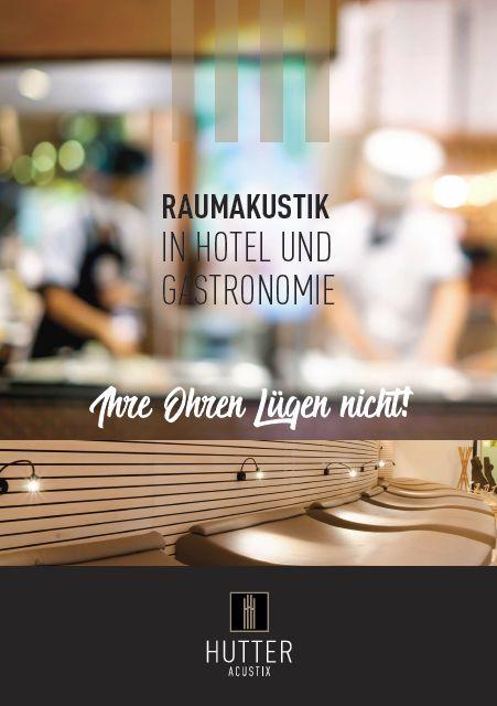 Neues Wording - stimmiger Unternehmensklang: Imagebroschüre, Hutter Acustix / Jogl Art GmbH