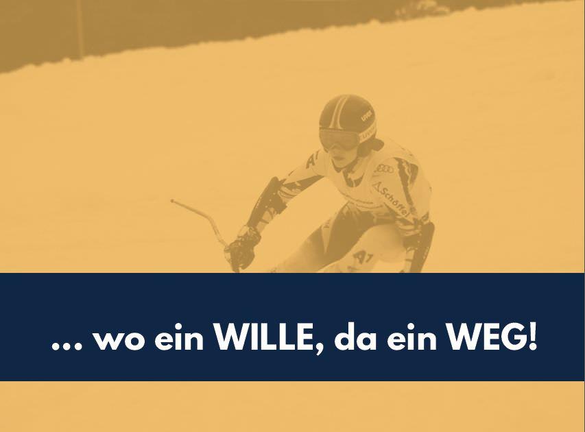Sponsorenmappe (Wording, Design) für Sportlerin