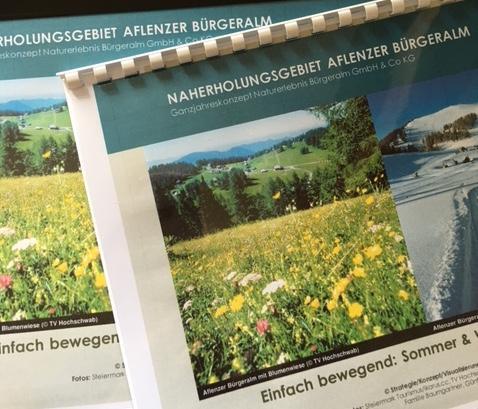 Tourismuskonzept: Naherholungsgebiet Aflenzer Bürgeralm, Naturerlebnis GmbH