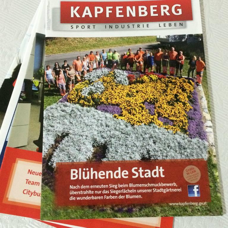 redaktionelle Beiträge: Magazin der Stadt Kapfenberg
