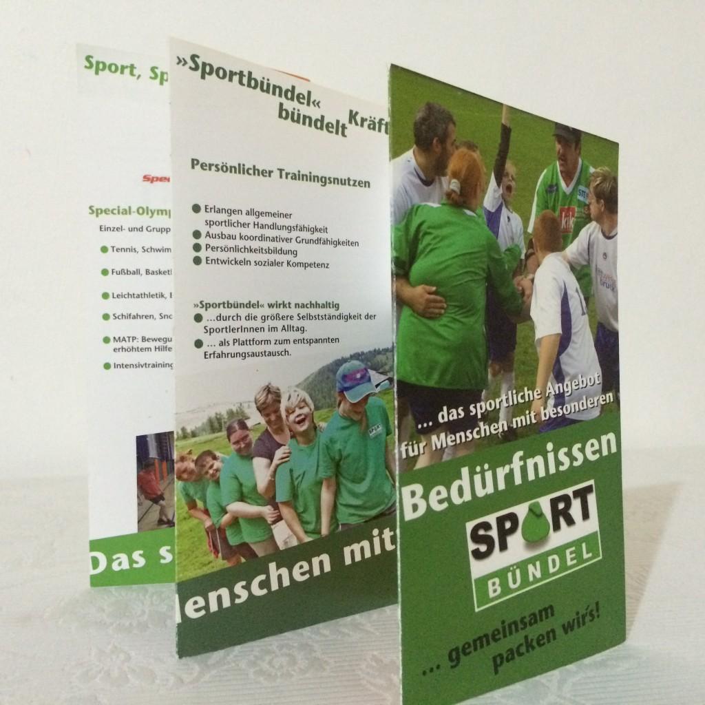 Marken-Entwicklung online & offline, Öffentlichkeitsarbeit: Sportbündel e.V.    [Gemeinsam packen wir´s]
