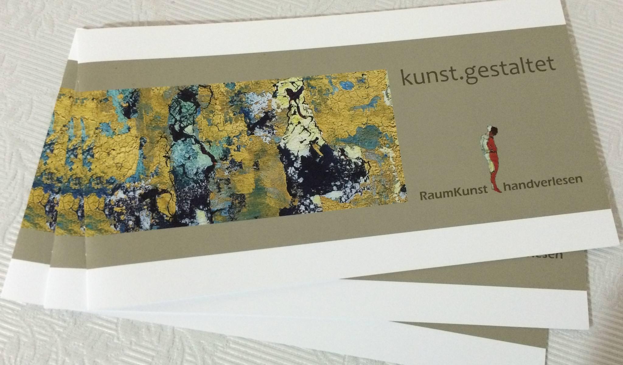 kunst.gestaltet - kunst.bewegt: Editorial, Wording für Leitung Kunstakademie Steiermark