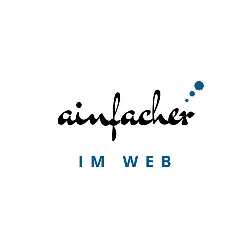 Marke und Website www.ainfach.at