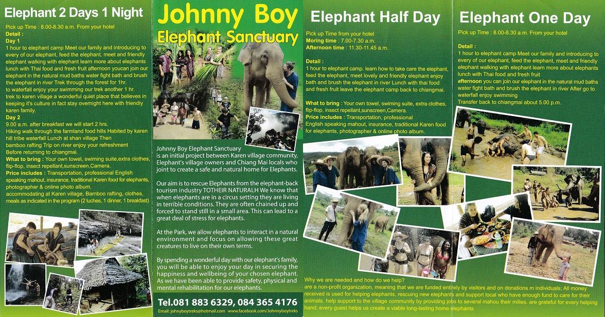 Johnny Boy Elephant Sanctuary