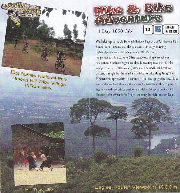 Hike&Bike Doi Suthep