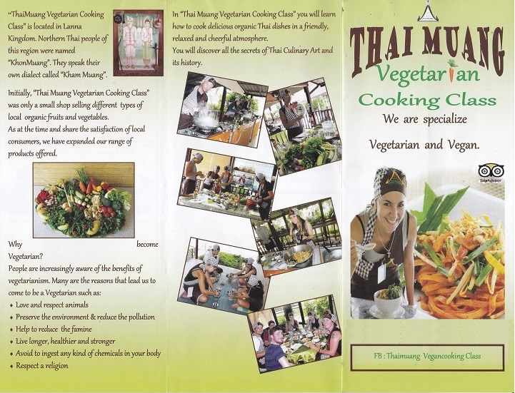 Thai Muang Vegetarian/Vegan Cooking Class