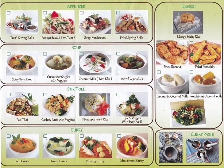 Thai Muang Vegetarian/Vegan Cooking Class