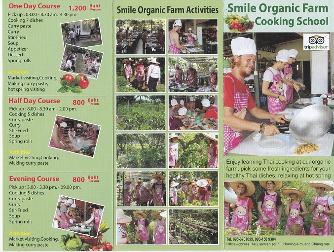 Smile Organic Farm Cooking School