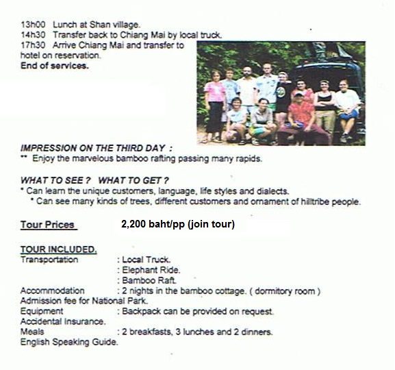 3day Mae Taeng Trekker Camp2