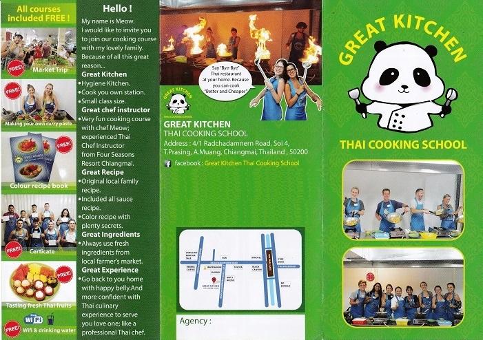 Great Kitchen Thai Cooking School